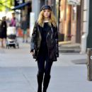 Suki Waterhouse in a Funky Hat – Out in New York 10/6/2016 - 454 x 506