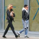 Kristen Stewart and Stella Maxwell out in New York City - 454 x 523