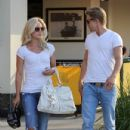 Derek and Julianne Hough Out with Family in LA