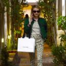 Emma Roberts – Shopping on Melrose Place in Los Angeles