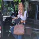 Hilary Duff – Arrives at Haylie's house in Studio City