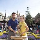 Olivia Wilde and Jason Sudeikis Visit Disneyland