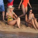Katy Perry in Swimsuit – Shooting her new music video in Hawaii