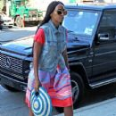 Solange Knowles: at a recording studio in Midtown Manhattan, NY on July 22nd, 2012