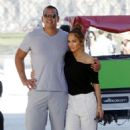 Jennifer Lopez and Alex Rodriguez Out in Paris