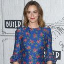 Leighton Meester – Visit AOL Build Series in NYC - 454 x 699