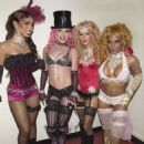Mya, Pink, Christina Aguillera and Lil Kim At The 2001 MTV Movie Awards