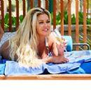 Bianca Gascoigne in Bikini on the pool in Dubai - 454 x 331