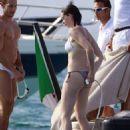 Anne Hathaway Bikini Candids On A Yacht In Spain