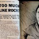 Rock Hudson - Movie Life Magazine Pictorial [United States] (July 1958) - 454 x 214