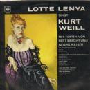 Lotte Lenya,musicals,Kurtv Weill, - 400 x 403