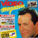 Bruce Willis - Video Magazin Magazine Cover [Germany] (March 1992)