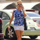 Reese Witherspoon stops by a spa in Santa Monica, California on July 8, 2016