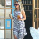 Ashley Tisdale Out In Toluca Lake