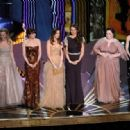 Wendi McLendon-Covey, Ellie Kemper, Kristen Wiig, Maya Rudolph, Melissa McCarthy and Rose Byrne At The 84th Annual Academy Awards - Show (2012)