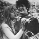 Samantha Juste and Micky Dolenz