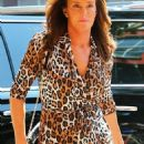 Caitlyn Jenner shows off her own unique style after visiting Patricia Field's boutique store in New York