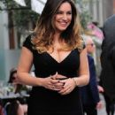 Kelly Brook Arriving At Bbc Radio Two London