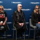 Glenn Tipton, Rob Halford and Richie Faulkner of the band Judas Priest attend SiriusXM's Town Hall series with Judas Priest on July 8, 2014 in New York City