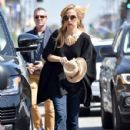 Rachel Zoe was spotted running errands with her son Kaius Berman in Los Angeles, California on March 24, 2017 - 429 x 600