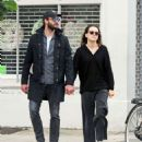 Daisy Ridley and Tom Bateman – Out in Primrose Hill - 454 x 527