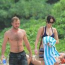 Jennifer Lawrence: out for another afternoon at the beach in Maui
