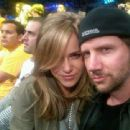 Jamie Kennedy and Girlfriend Nicolle Radzivil 2012 - 454 x 340