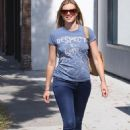 Amy Smart - Out & About In West Hollywood - June 26, 2010