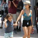 Kourtney Kardashian In Swimsuit Out In St Barts