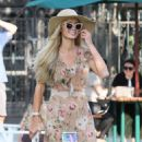 Paris Hilton with her fiance – Seen at Malibu Country Mart in Malibu