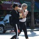 Vanessa Hudgens in Spandex heading to the gym in LA - 454 x 590