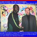 "DJIMON HOUNSOU, TWO-TIME OSCAR NOMINEE...  THE UNFORGETTABLE SUPPORTING STAR OF ""IN AMERICA"" AND ""BLOOD DIAMOND"