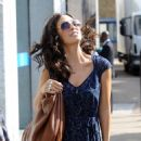 Myleene Klass - Outside Of ITV Studios In London - September 1, 2010 - 454 x 619