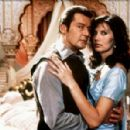 Roger Moore and Maud Adams - 454 x 298