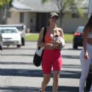 Victoria Justice – – Looks sporty after workout in Los Angeles - 454 x 550
