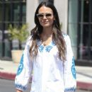 Jordana Brewster in Summer Dress out in West Hollywood - 454 x 688