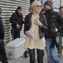 Taylor Momsen Walks To The Set Of Gossip Girl On The Upper East Side, 2009-02-06
