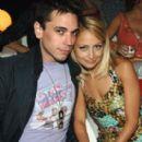 Adam Goldstein and Nicole Richie