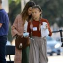 Jessica Alba and Honor Warren – Out in Brentwood