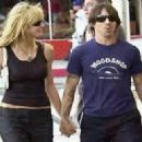 Anthony Kiedis and Heidi Klum