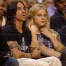 Anthony Kiedis and Jessica Stam