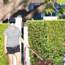 Reese Witherspoon – Spotted walking her dogs in Malibu