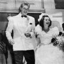 Barbara Hale and Bill Williams