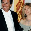 Barbra Streisand and Peter Jennings