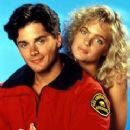 Billy Warlock and Erika Eleniak