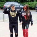 Katie Price and Kris Boyson out in London - 454 x 590