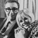 Britt Ekland and Peter Sellers