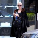 Ashlee Simpson – Leaves the gym in Los Angeles - 454 x 605