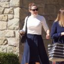Jennifer Garner – Seen leaving church in Pacific Palisades