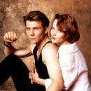 Christian Slater and Samantha Mathis